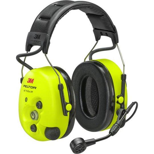 3M Peltor WS ProTac XPI Kuulosuojain päälakisanka, ilman FLX2-tuloa