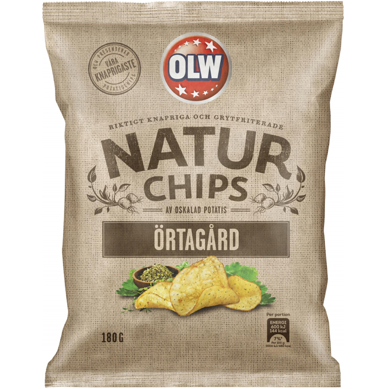 Chips Örtagård - 68% rabatt