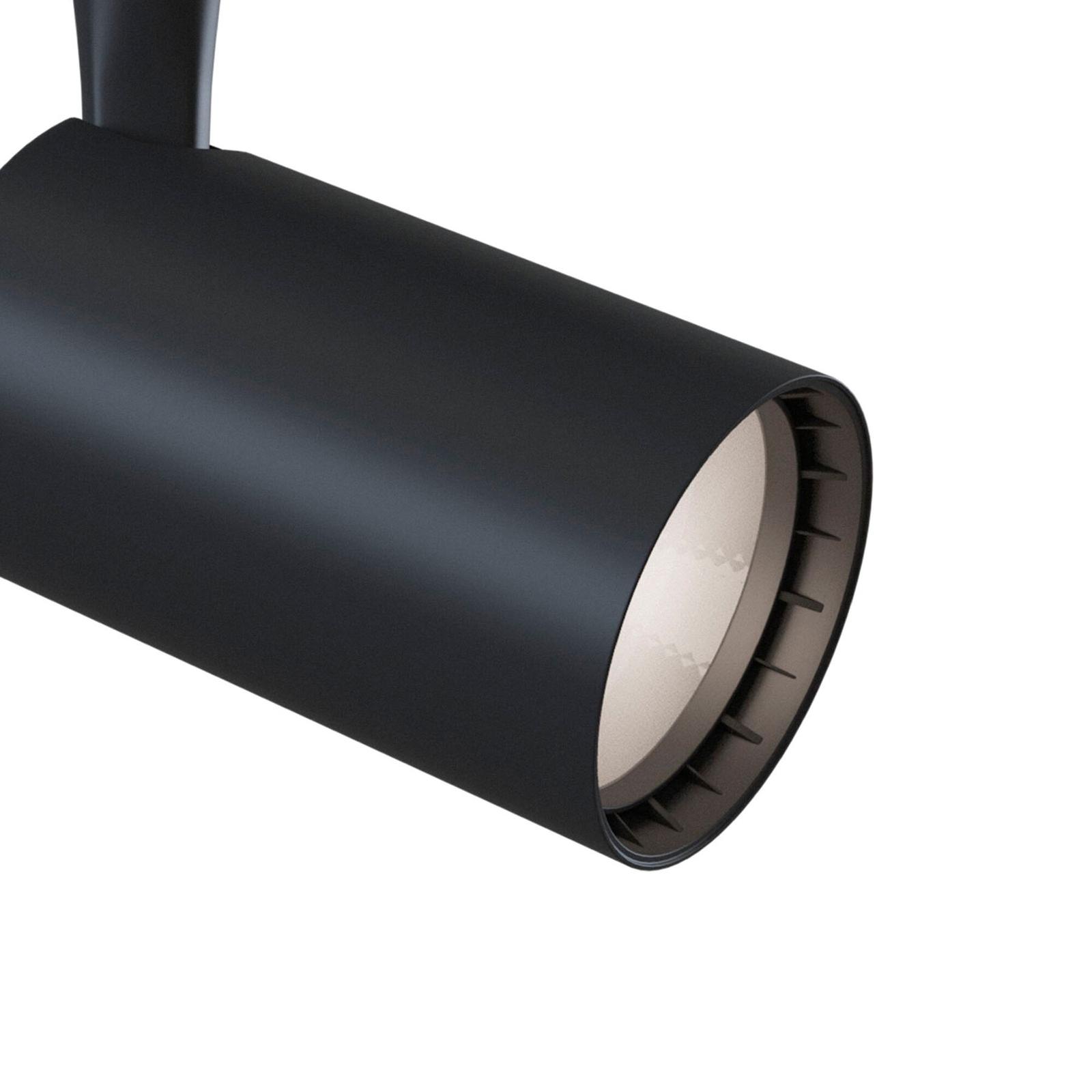 1-vaihe-spotti Track LED 3000K 6W, musta