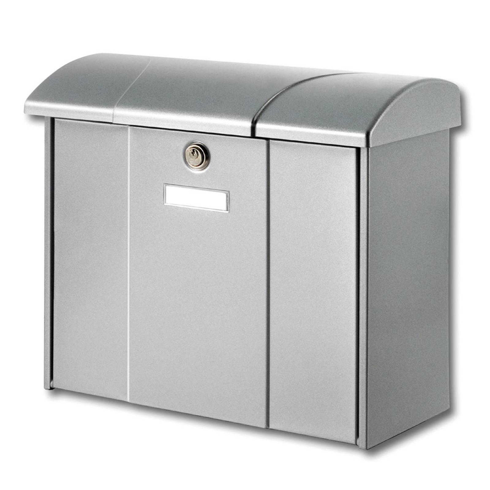 Olymp-postilaatikko, hopea