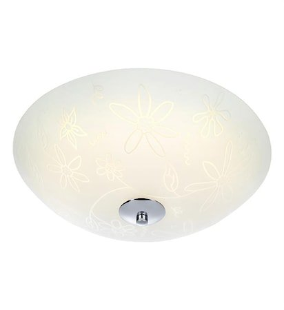 Fleur Plafond LED 35 cm White/Chrome