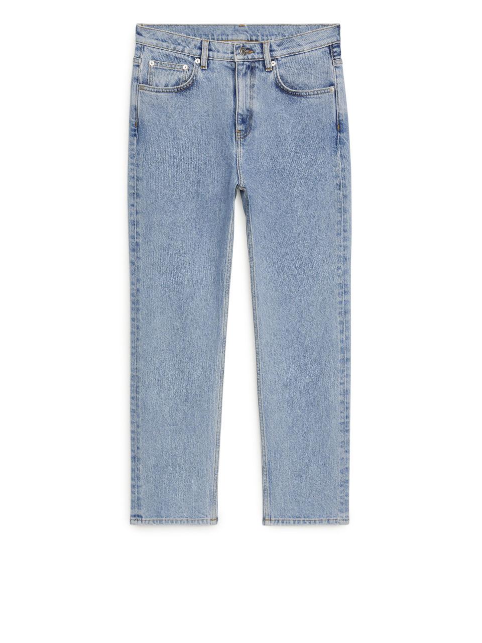 REGULAR CROPPED STRETCH Jeans - Blue