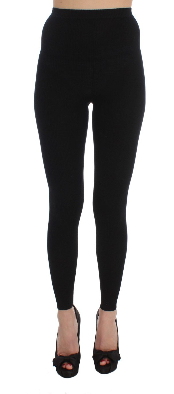 Dolce & Gabbana Women's Trouser Black SIG32066 - IT42 M