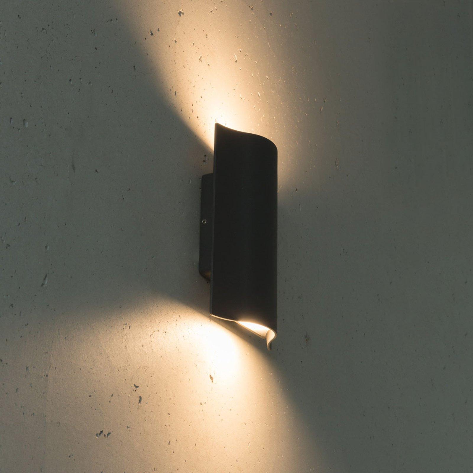 Utendørs LED-vegglampe Laola