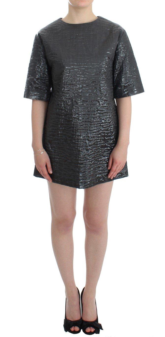 House of Holland Women's Metallic SS Dress Silver SIG12504.1 - M