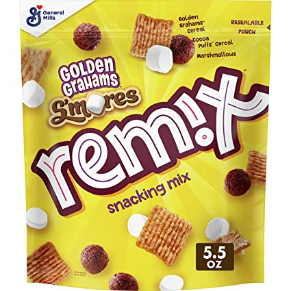 Golden Grahams Remix S'mores Snacking Mix 155g