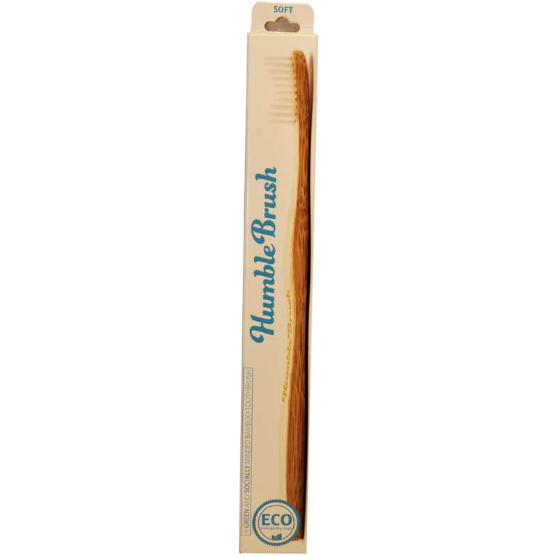 """Tandborste """"Humble Brush"""" Vit - 21% rabatt"""