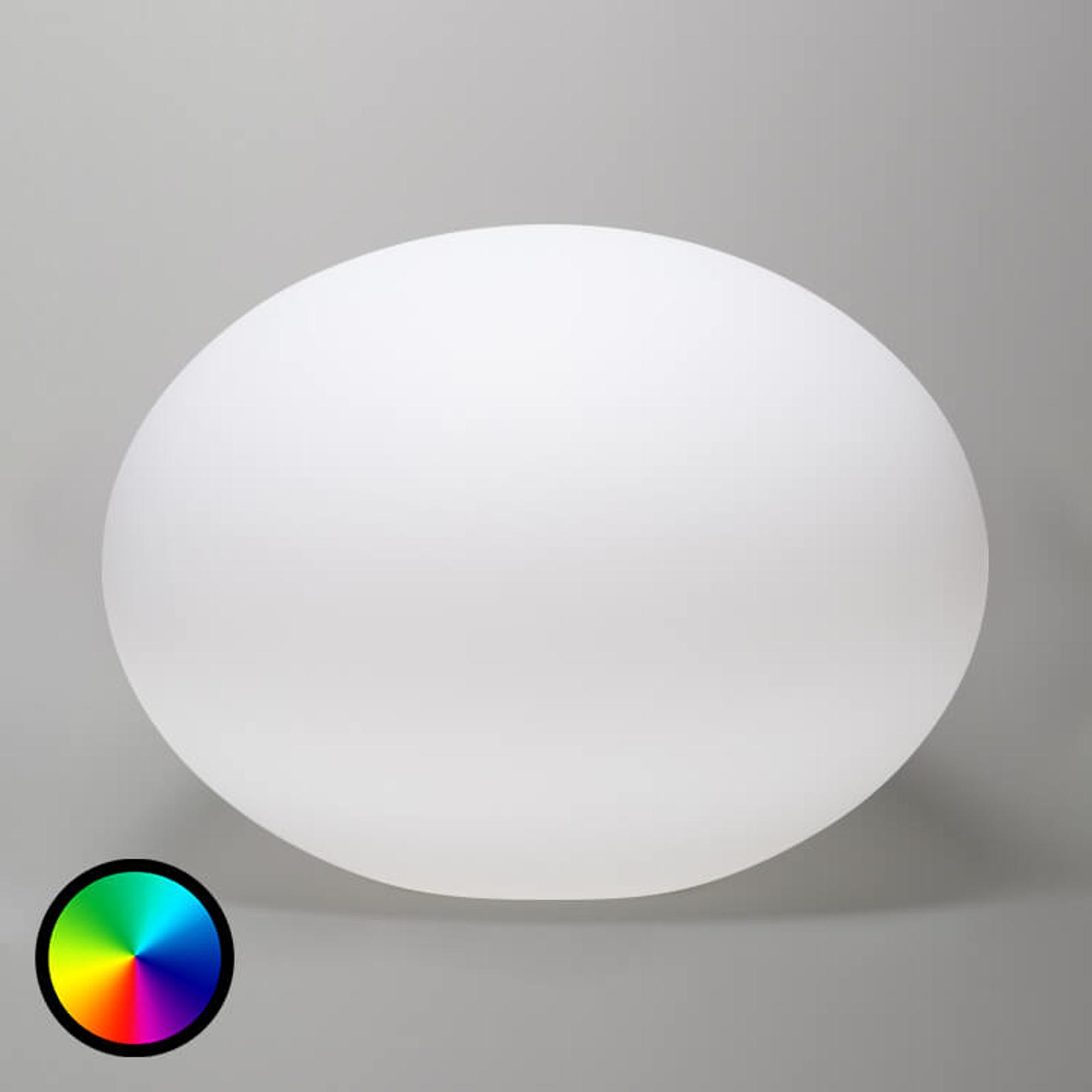 Flatball - kelluva LED-koristevalaisin