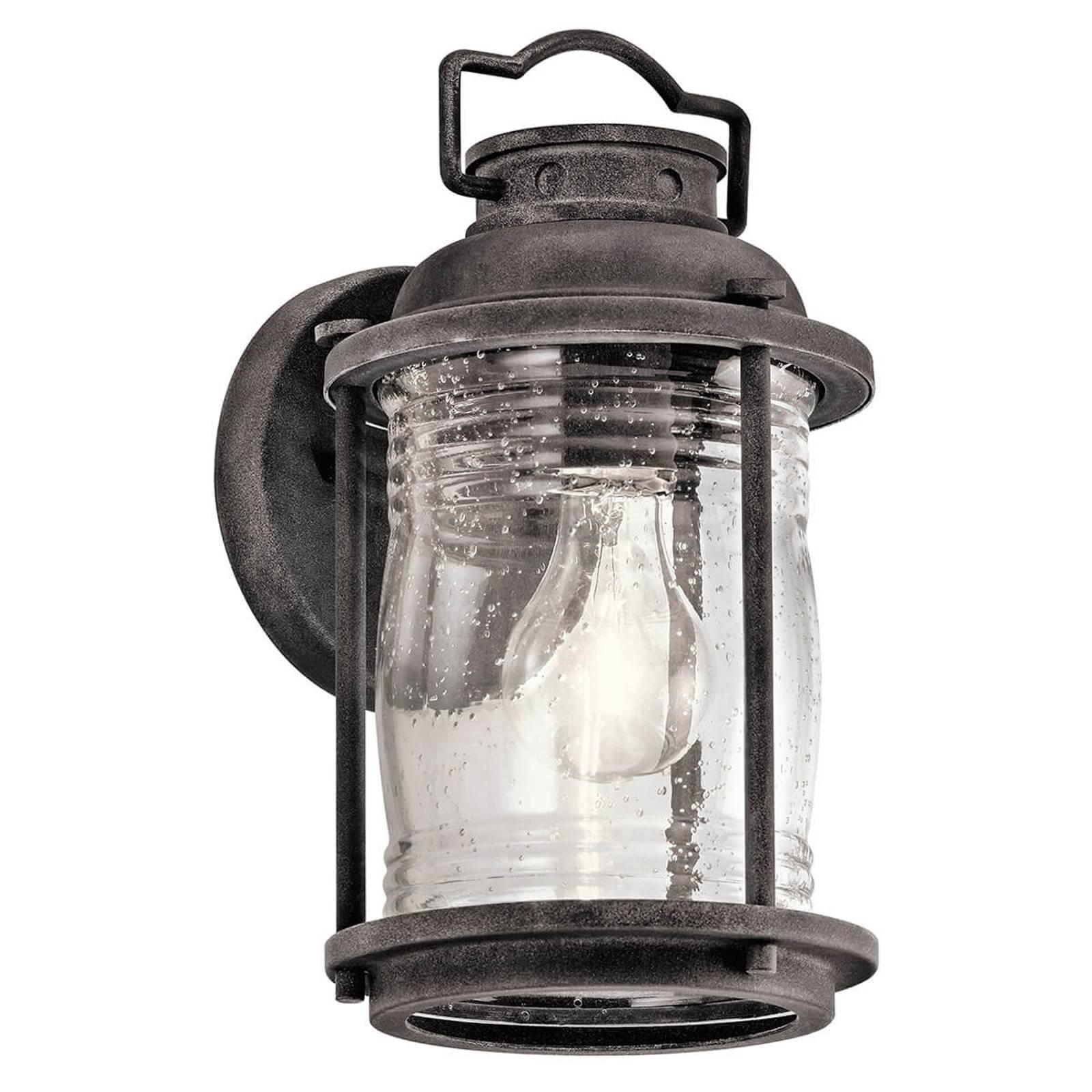 Lanterneformet utendørs vegglampe Ashland Bay