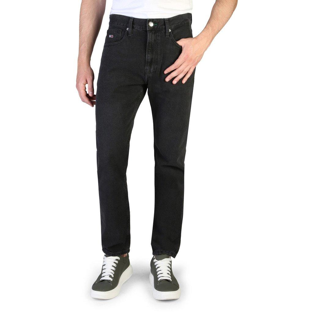 Tommy Hilfiger Men's Jeans Black DM0DM07058 - black 33
