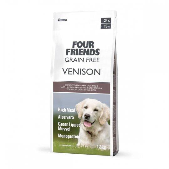 FourFriends Dog Grain Free Venison (12 kg)