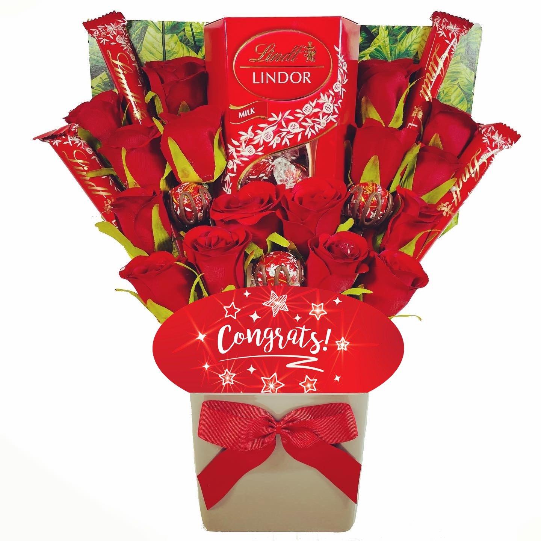The Congrats Lindt Lindor Chocolate Bouquet