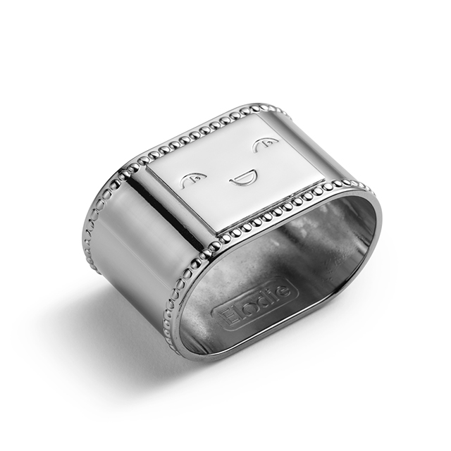 Elodie Details - Napkin Ring - Antique Silver