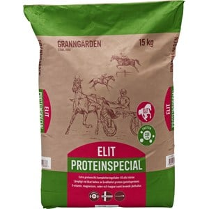Hästfoder Granngården Elit Proteinspecial, 15 kg