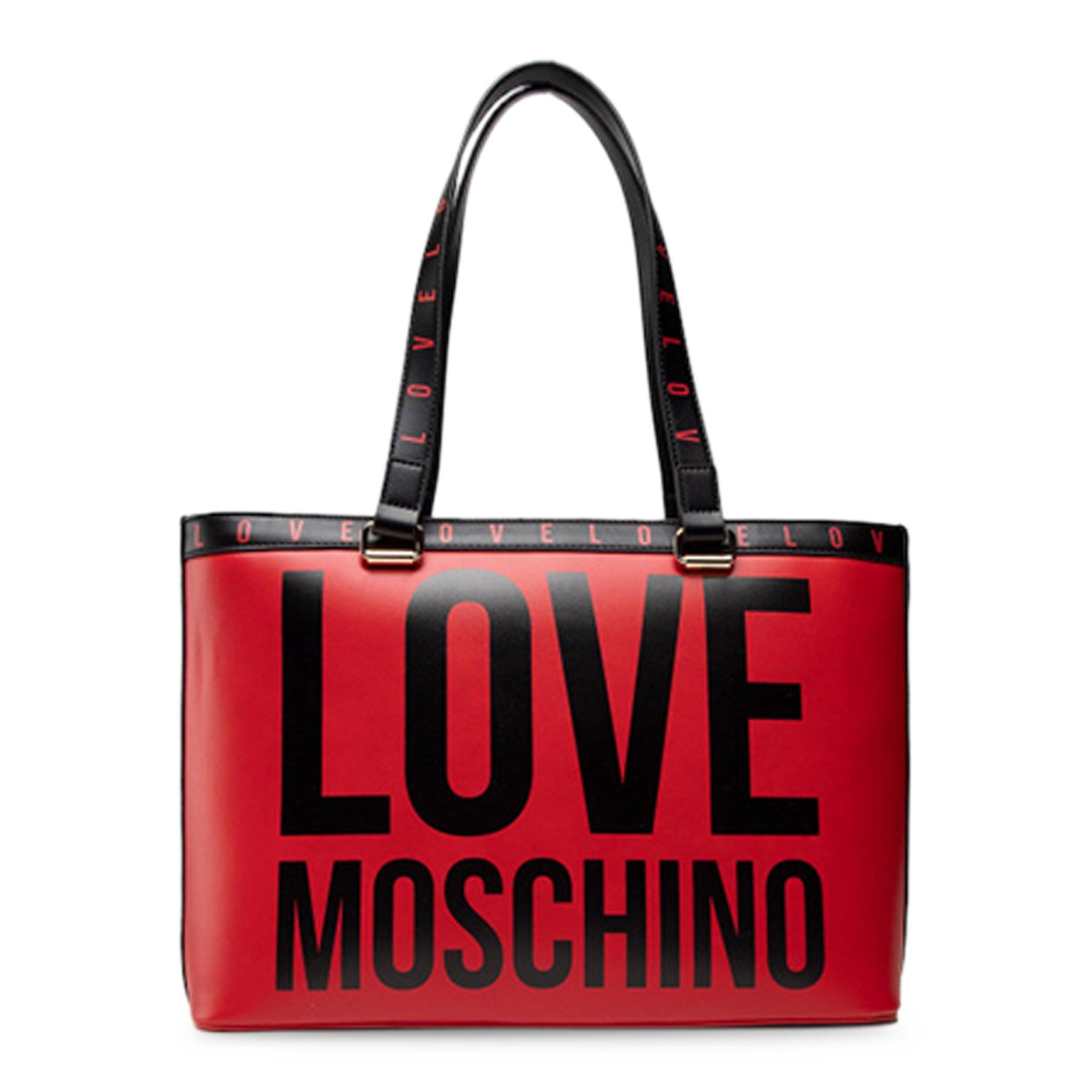Love Moschino Women's Shopping Bag Various Colours JC4180PP1DLI0 - red NOSIZE