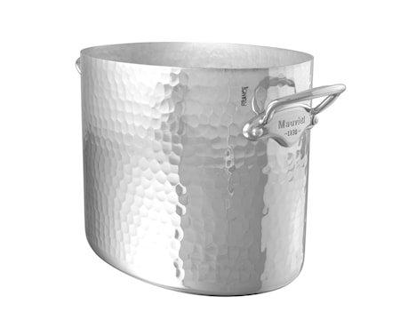 Champagnekjøler oval aluminium