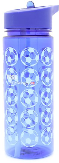 Pure Norway Free Football Flaske Blå