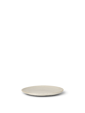 Flow Tallrik Small Off-white speckle