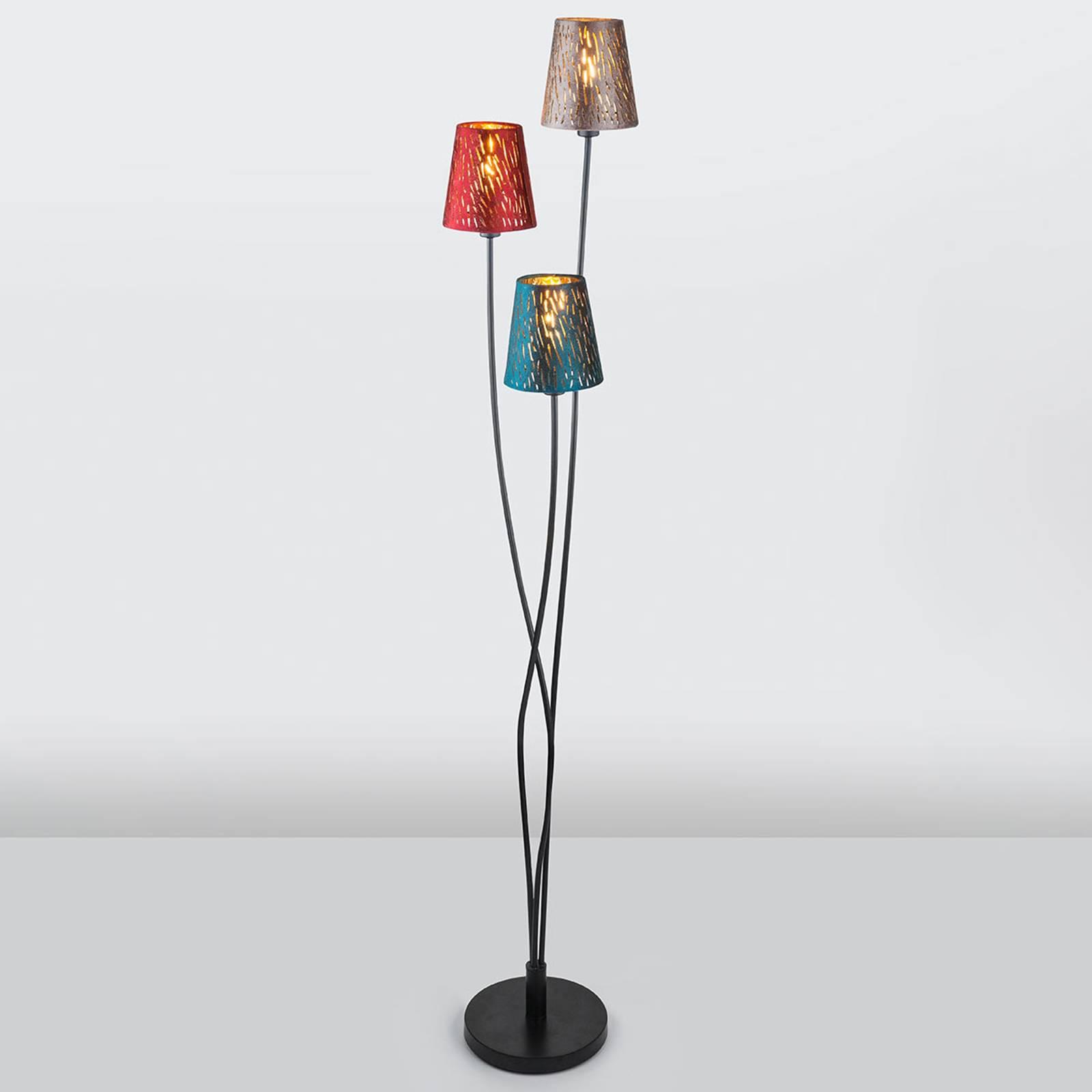 Lattiavalo Ticon 3-lamppuinen