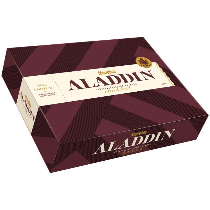 """Mörka Chokladpraliner """"Aladdin"""" 400g - 69% rabatt"""