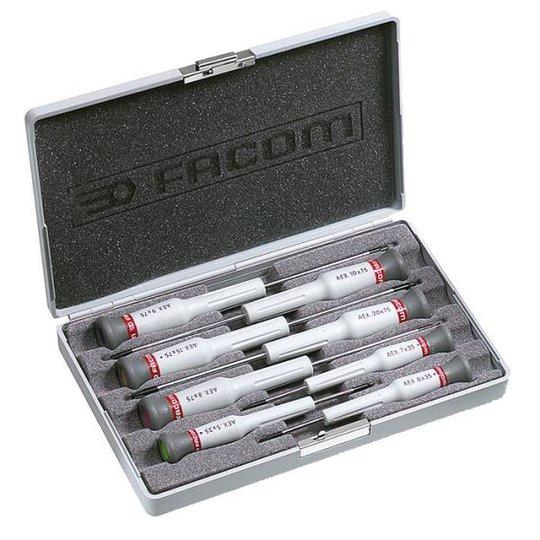 Facom AEX.J2 Ruuvitalttasarja Micro-Tech, 8 osaa