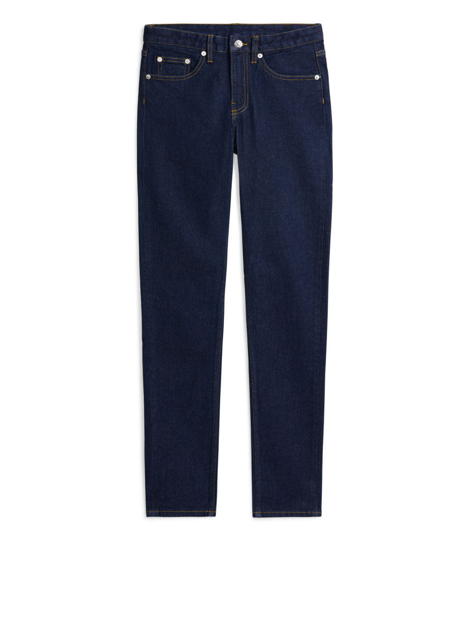 SLIM Rinsed Stretch Jeans - Blue