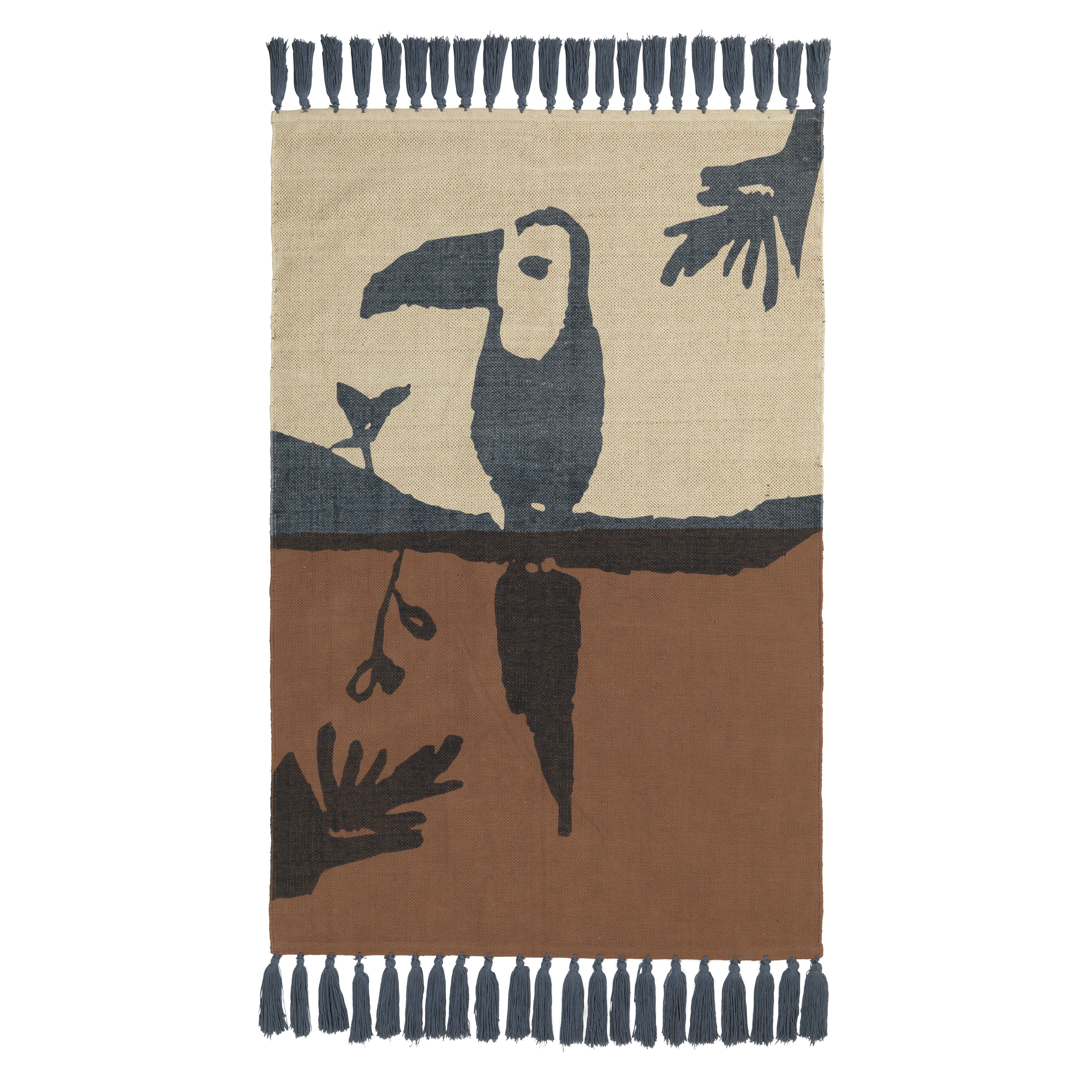 Nofred - Toucan Rug - Brown