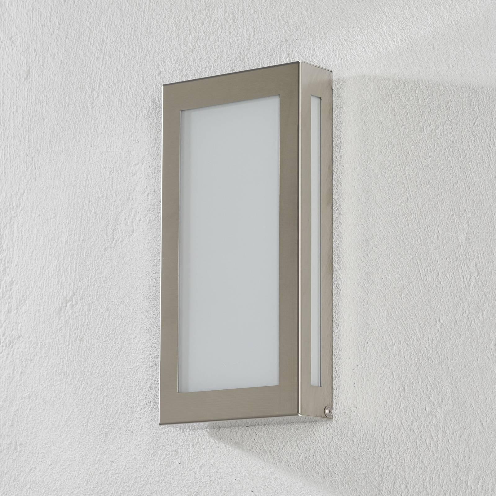 Utendørs LED-vegglampe 118LED, rustfritt stål
