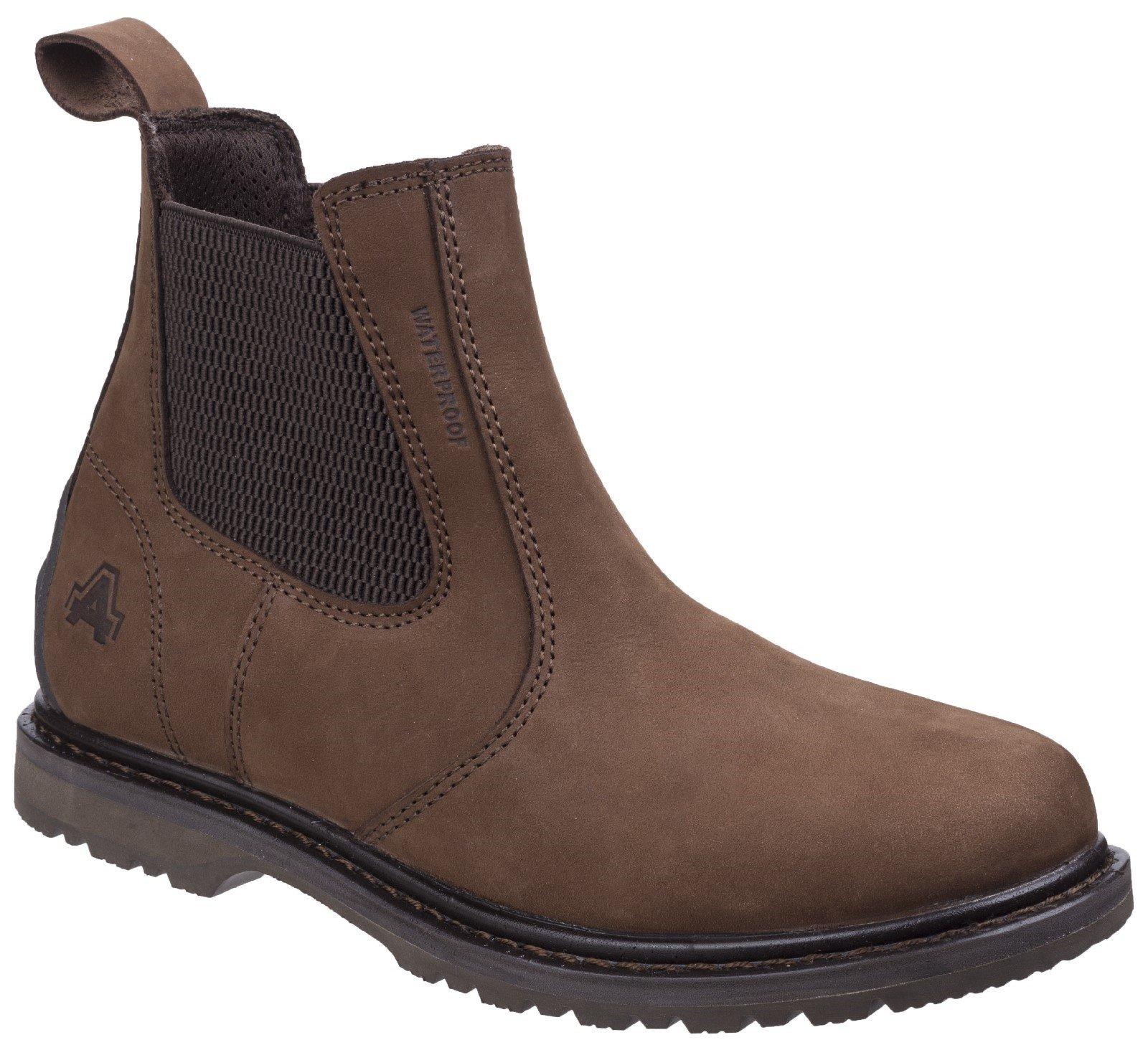 Amblers Men's Aldingham Dealer Boot Brown 27213 - Brown 4