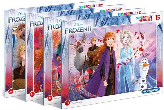 Disney Frozen 2 Rammepuslespill, 15 Biter