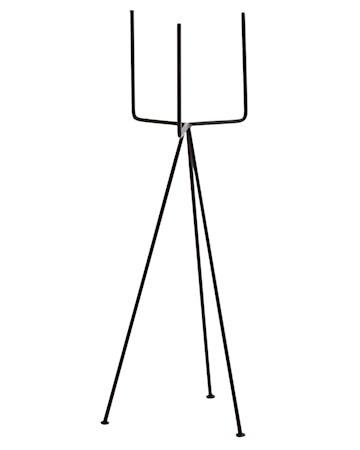 Krukkeholder 18x50 cm - Svart