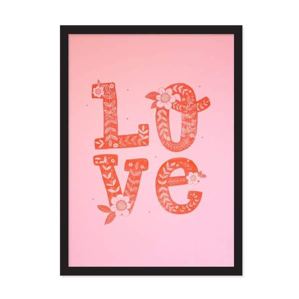 LOVE Riso Print A3