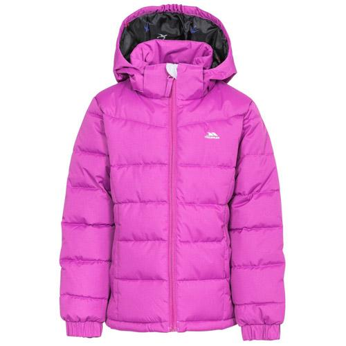 Trespass Kid's Padded School Jacket Various Colours Marey - Purple Orchid 2 to 3 Years