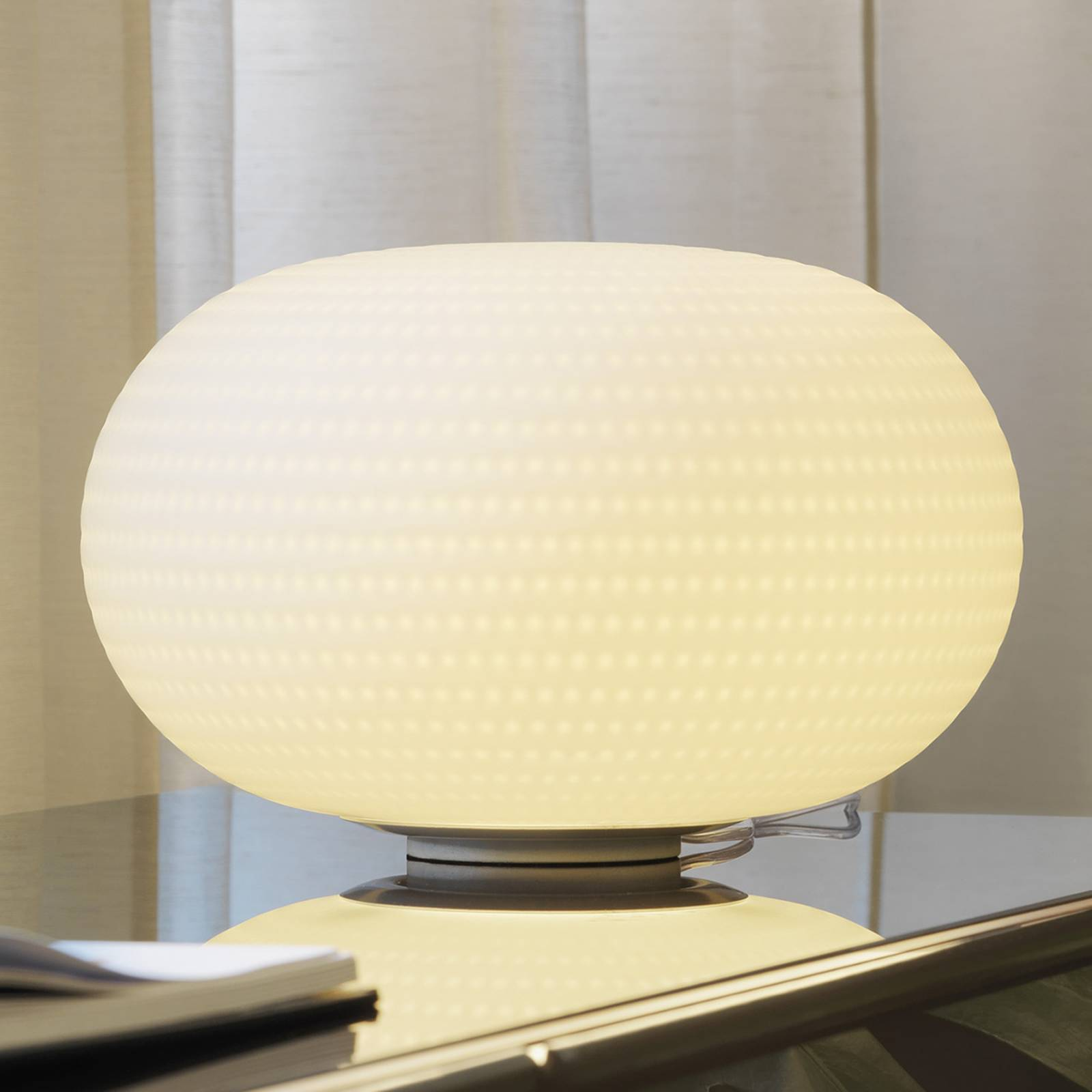 Fontana Arte Biana -LED-pöytälamppu 30 cm