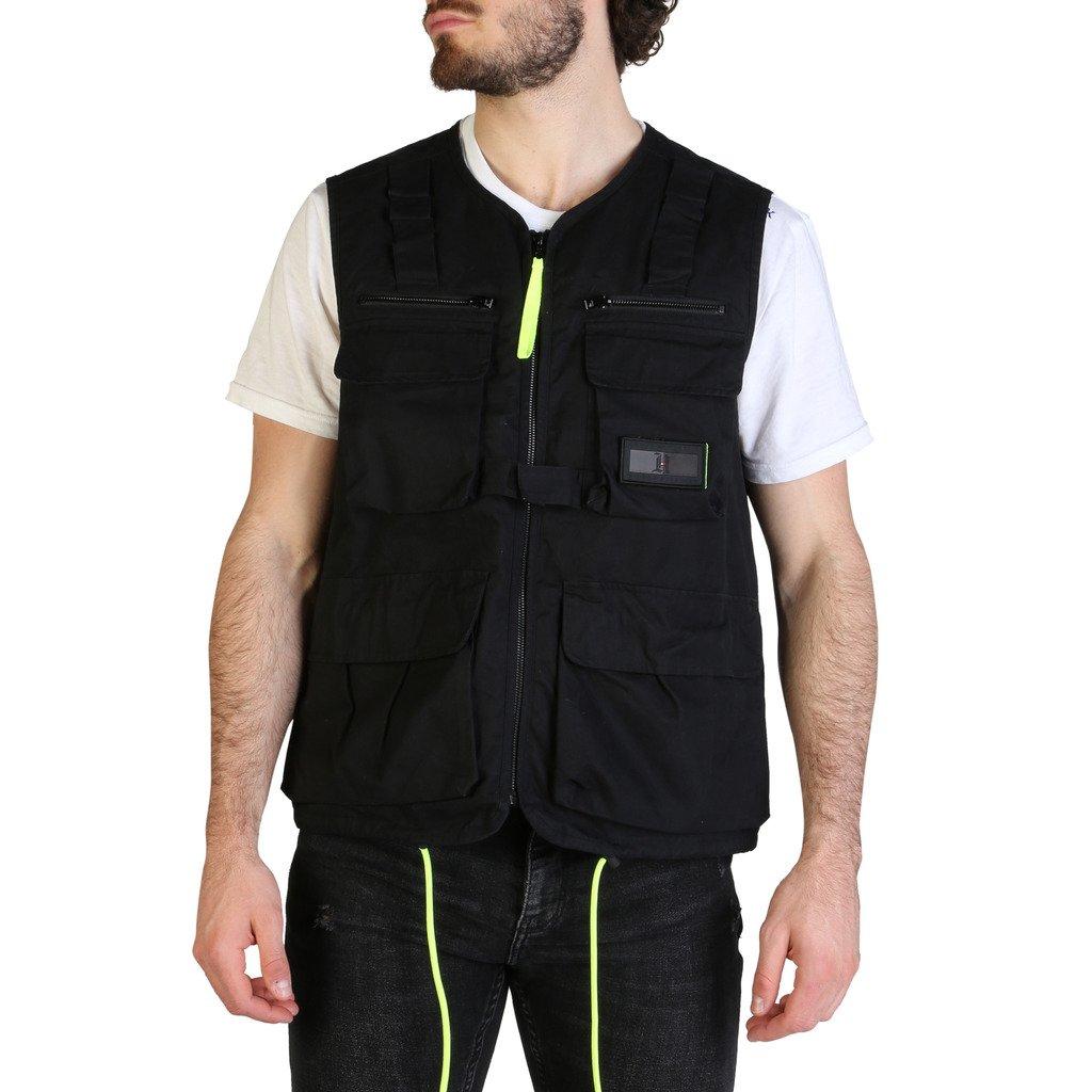 Tommy Hilfiger Men's Jacket Black MW0MW13675 - black XS