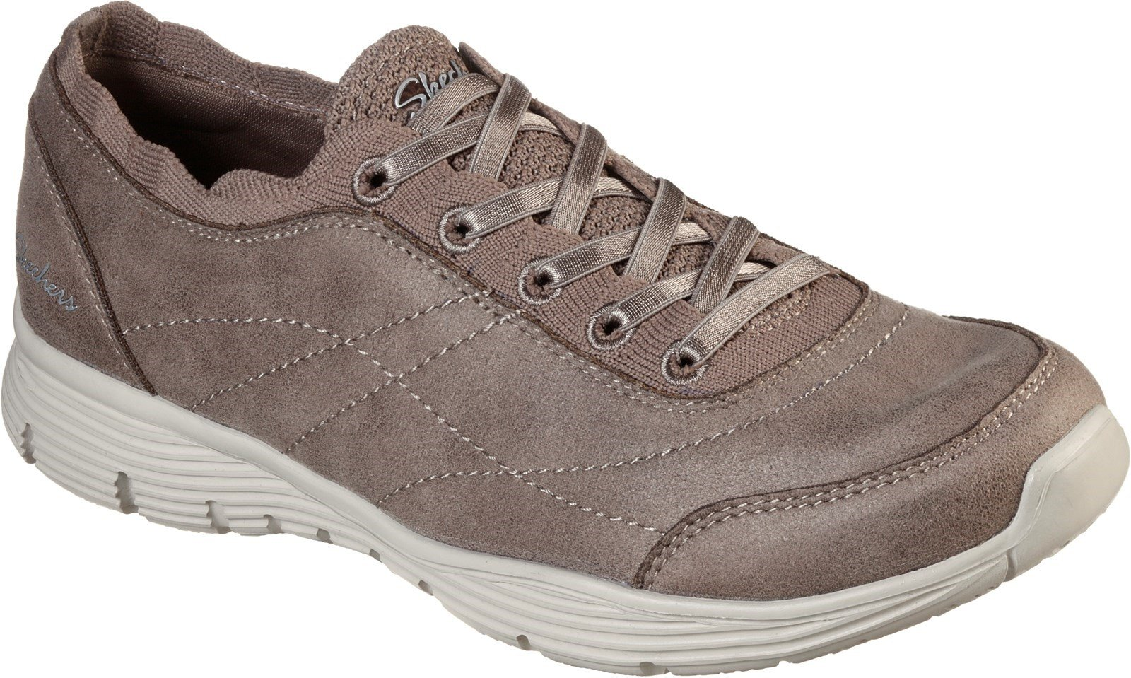 Skechers Women's Seager Scholarly Sports Trainer Various Colours 31063 - Dark Taupe 3