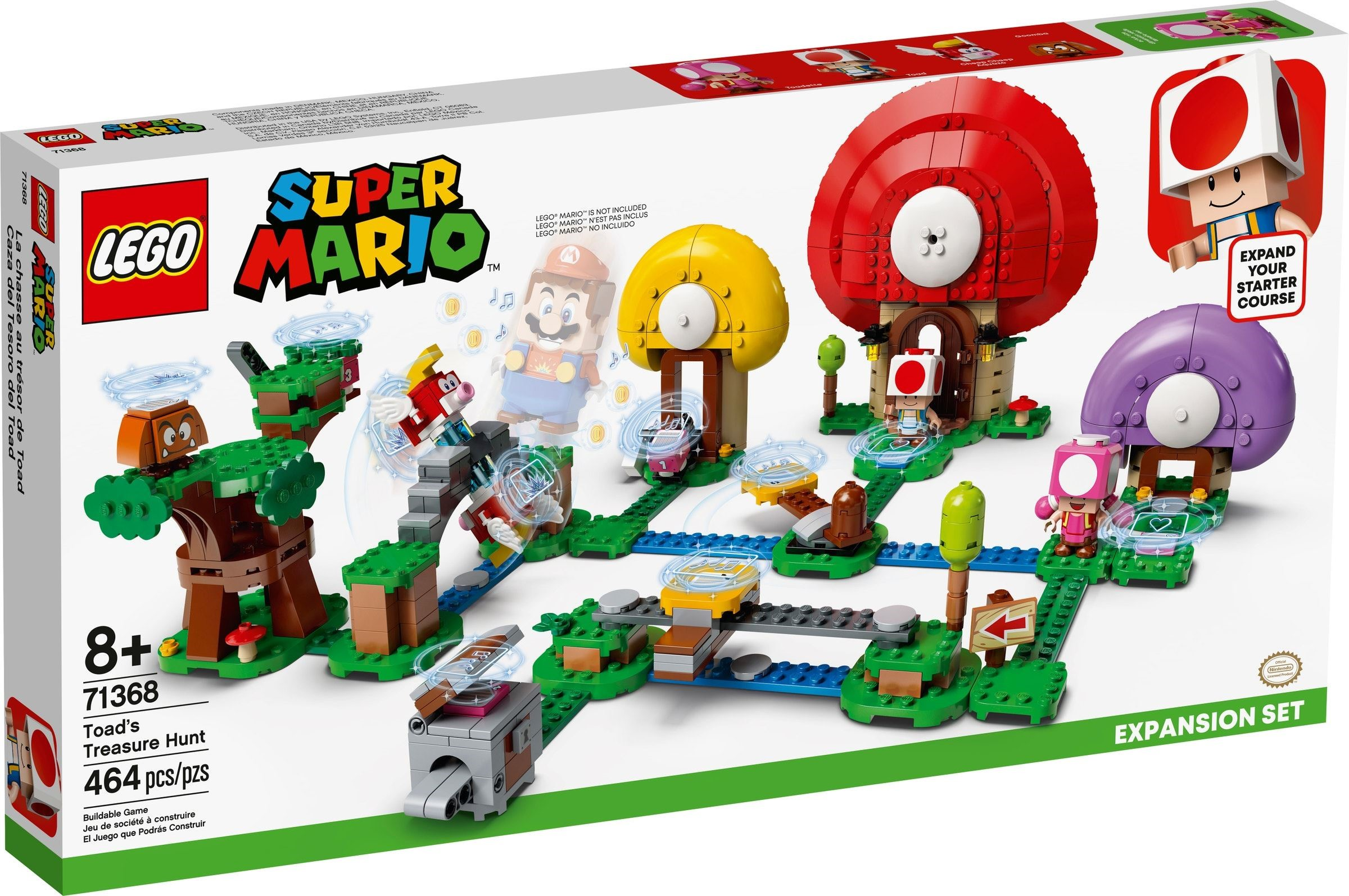 LEGO Super Mario - Toad's Treasure Hunt Expansion Set (71368)