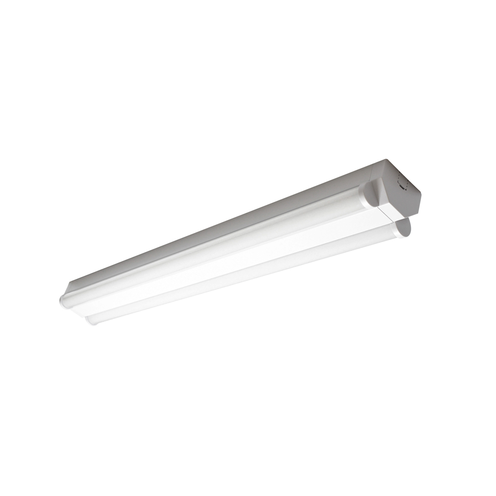 Basic 2 – kaksilamppuinen LED-kattovalaisin 60 cm
