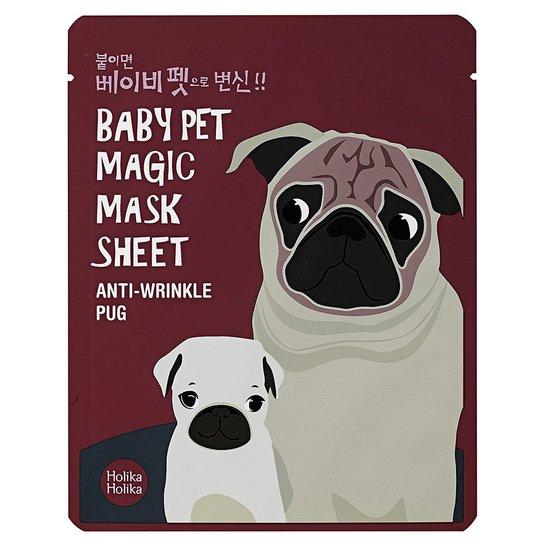 Holika Holika Baby Pet Magic Mask Sheet Pug, Holika Holika K-Beauty
