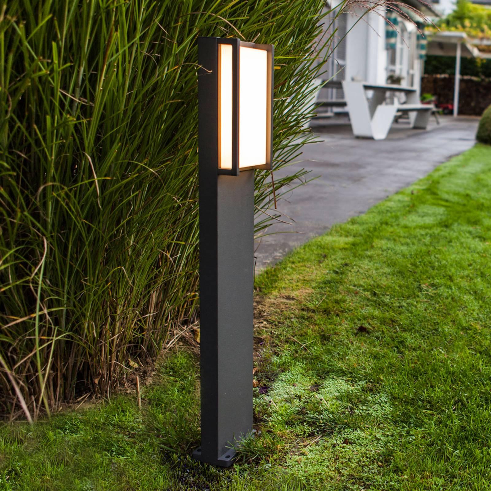 Qubo - LED-pylväsvalaisin suoralinjainen