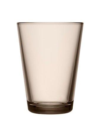 Kartio Glass Lin 40 cl 2 stk.