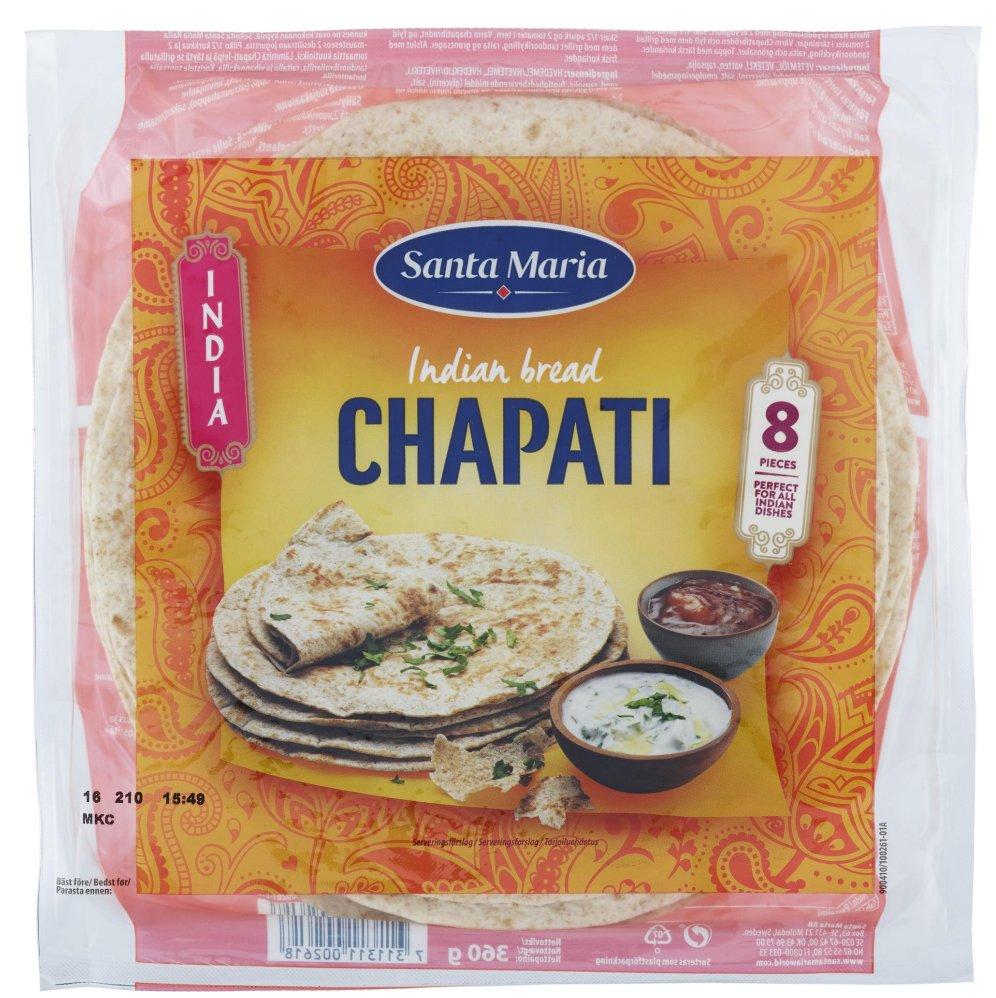 """Bröd """"Chapati"""" 360g - 28% rabatt"""
