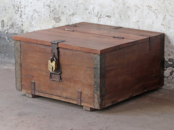 Coffee Table Chest Large