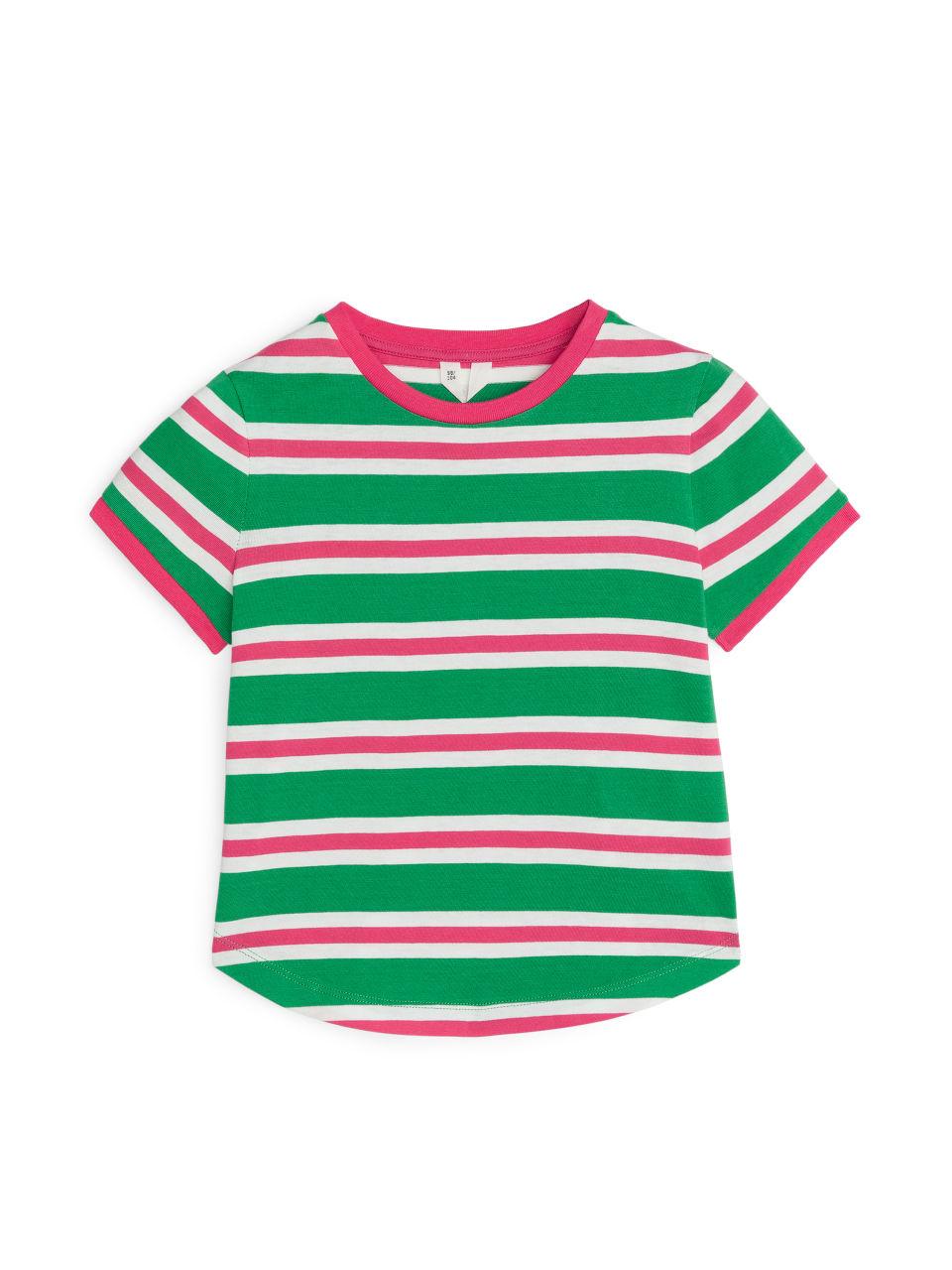 Striped T-Shirt - Green