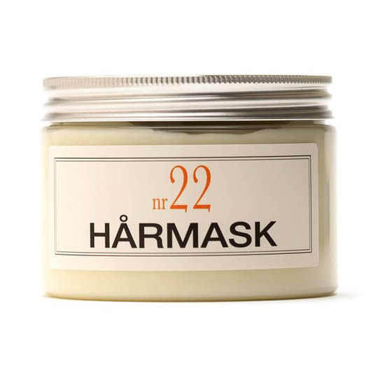 BRUNS Products Hårmask nr 22 - Varm Bergamott, 350 ml