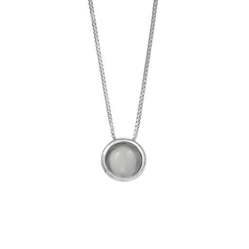 Halsband i rhodinerat äkta silver