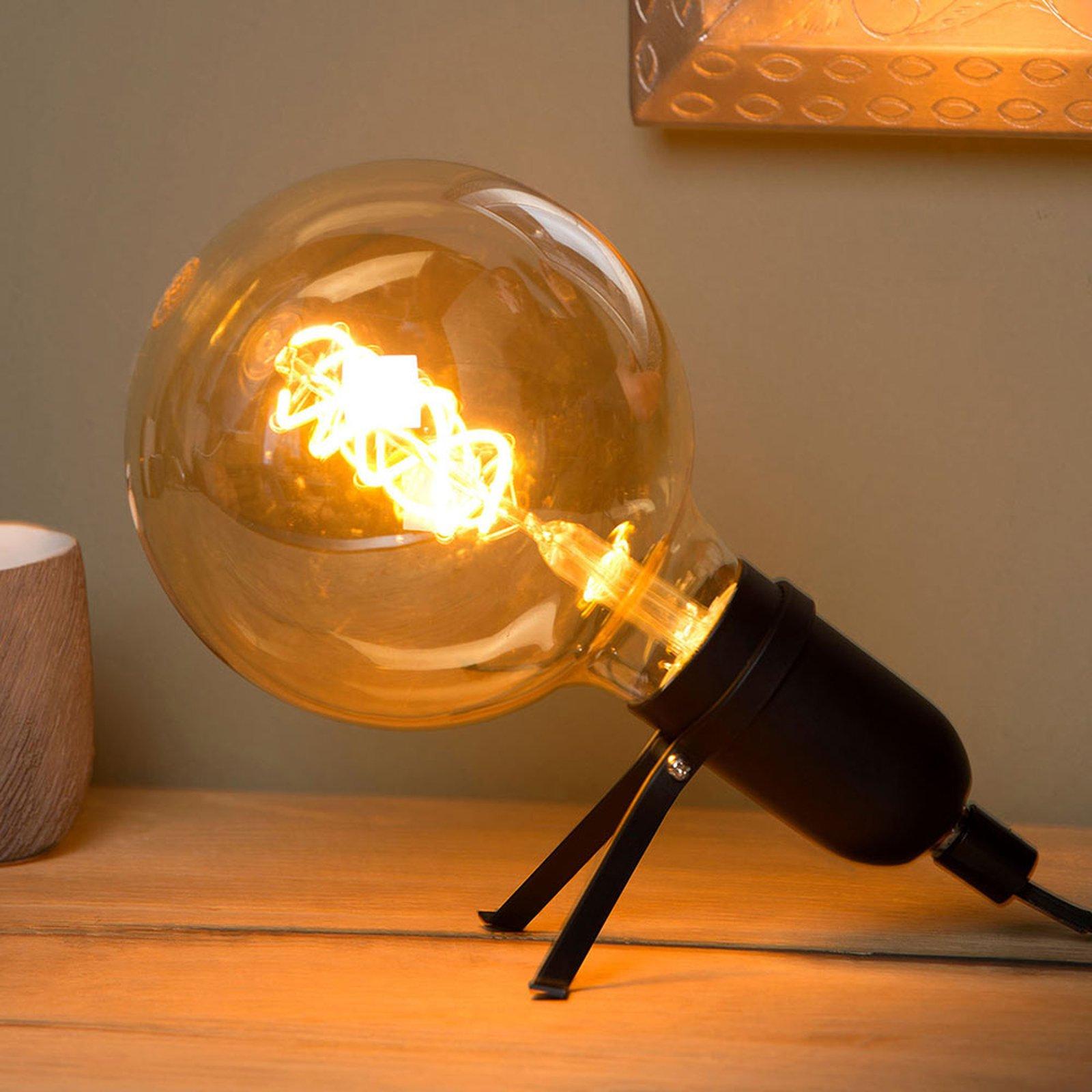Pukki LED-bordlampe, svart