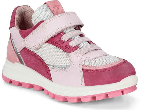 Ecco Exostrike Sneaker, Sangria/Bubblegum/Blossom Rose, 33