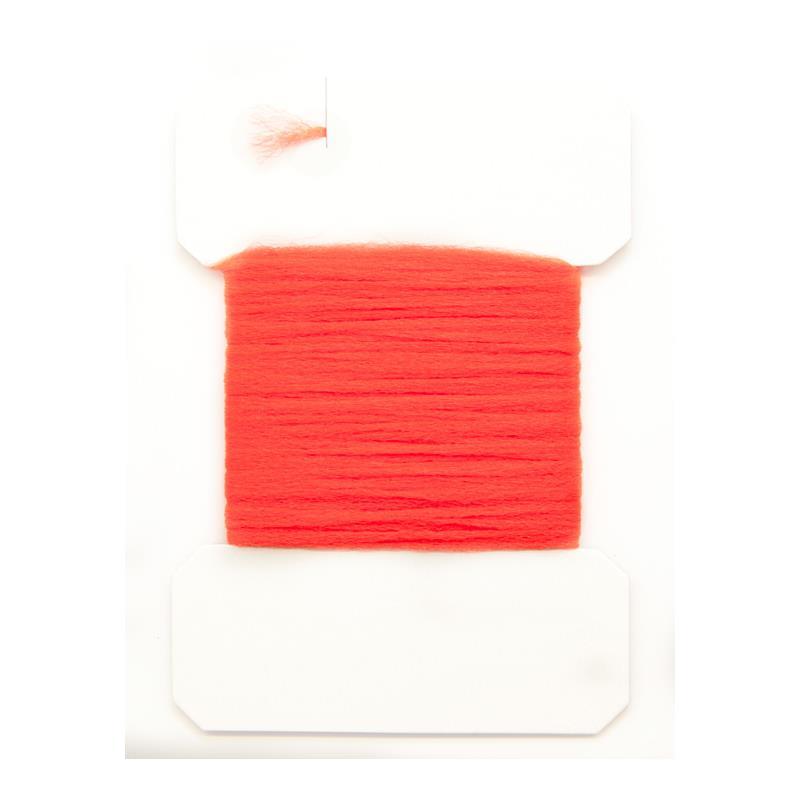 Antron Yarn Carded - Fl. Fire Orange