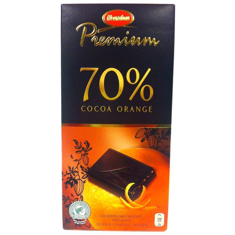 Marabou premium 70% orange - 50% rabatt